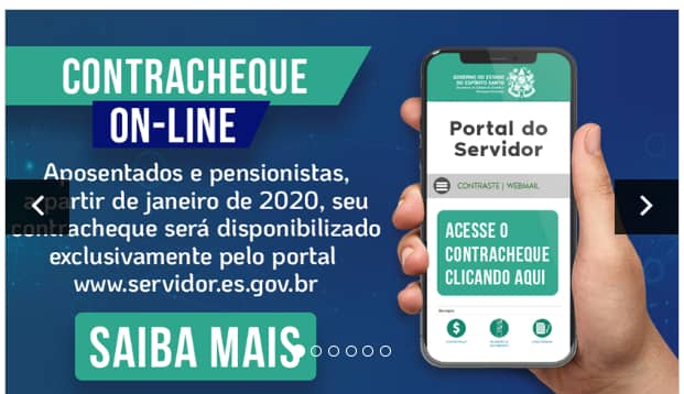 Portal do Servidor – Contracheque