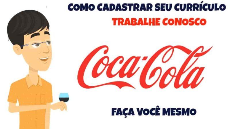 Coca Cola Trabalhe conosco - enviar seu currículo