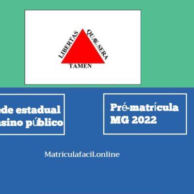 Pré-Matrícula 2022 MG online
