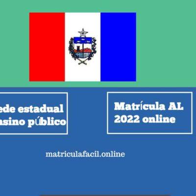 Matrícula AL 2022 online