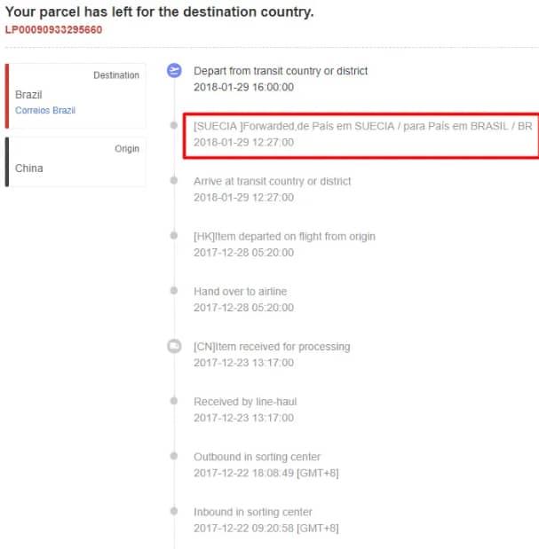 Como rastrear o código no site dos correios