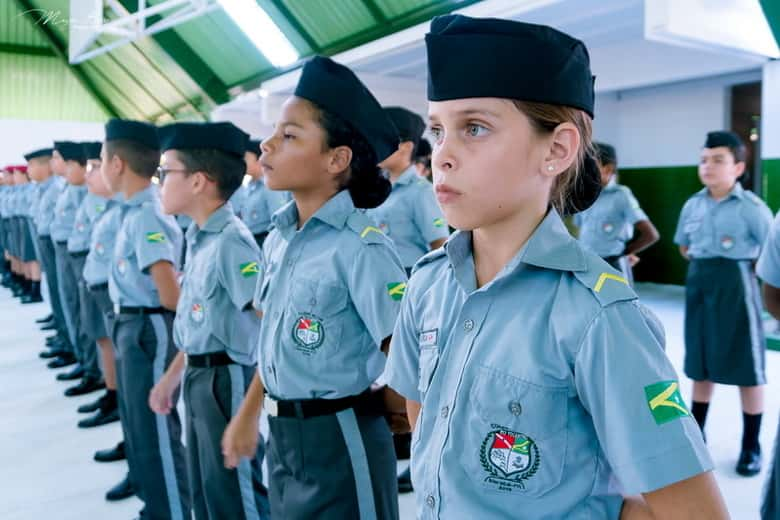 Matrícula escola militar