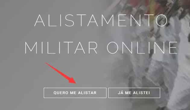 site oficial do alistamento online