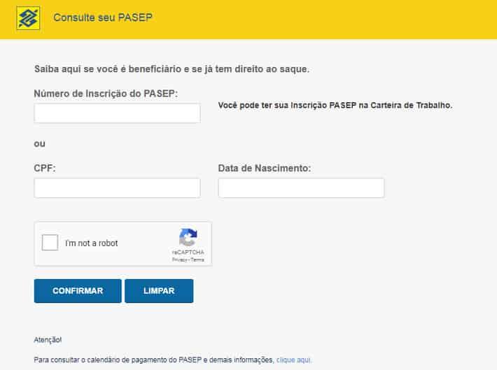 página banco do brasil