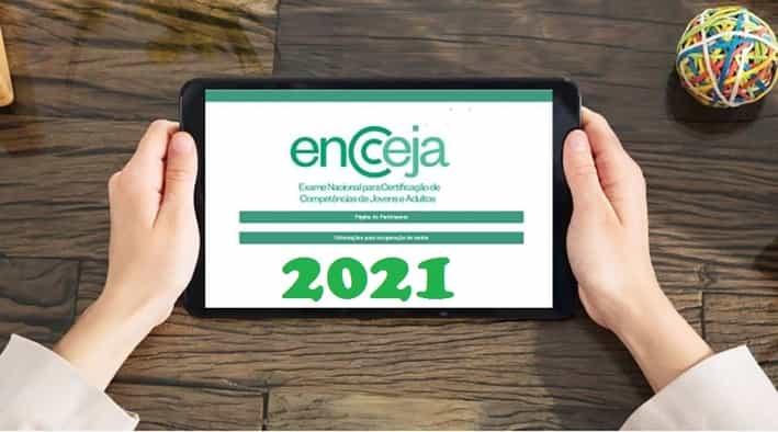 Inscrições Encceja 2021 – cronograma