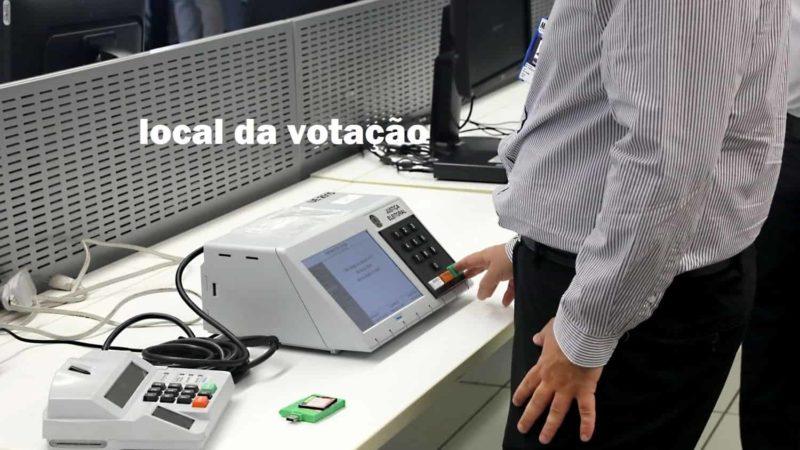 Como saber o local da votação - eleições 2022