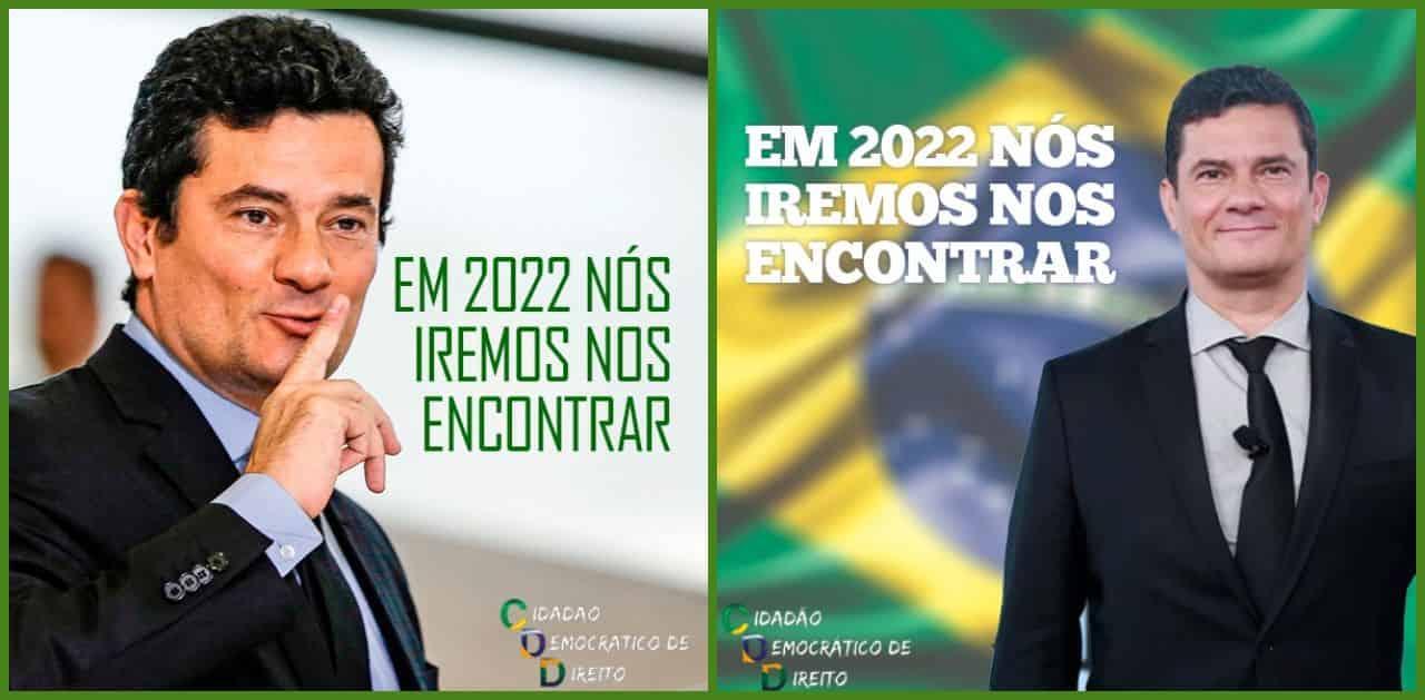Moro 2022 – maior advsersário do Bolsonaro