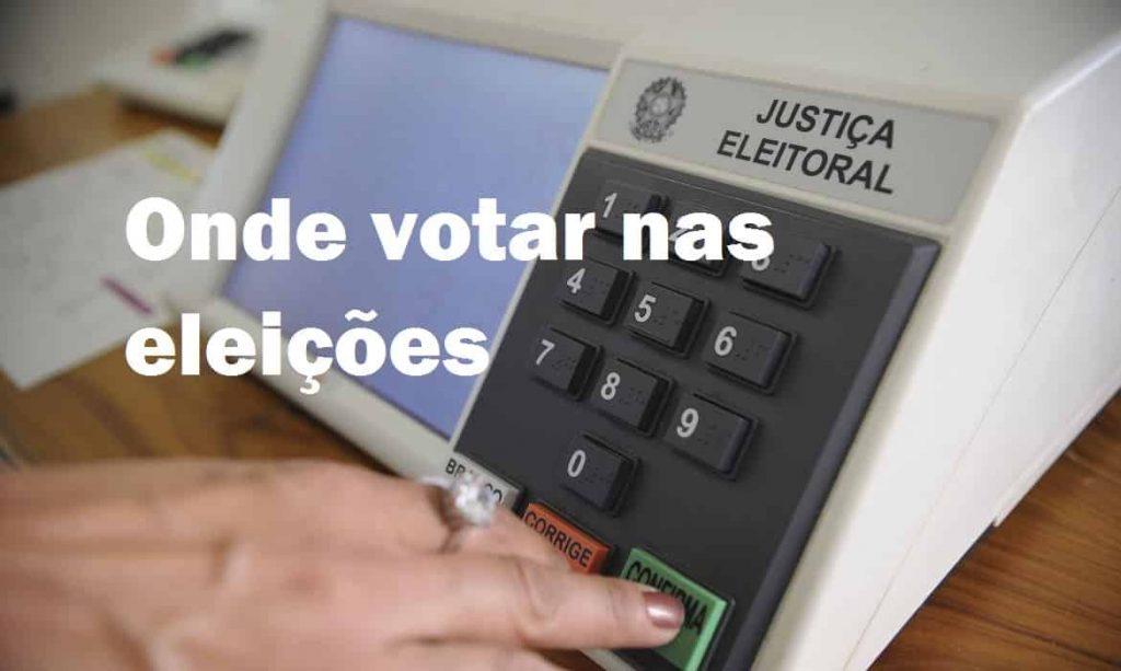 Onde votar nas eleições 2022 Brasil?