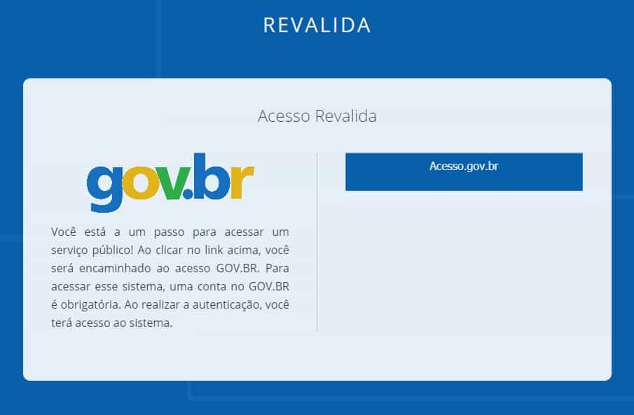 acessar página do participante revalida