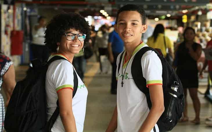 estudantes rede estadual bahia