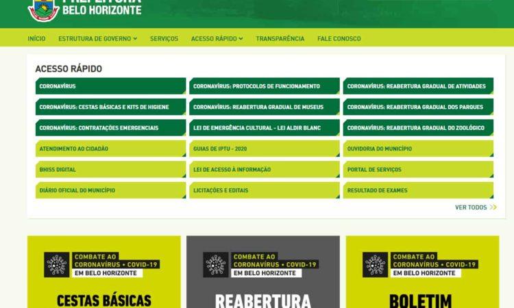 site oficial para cadastramento escolar belo horizonte