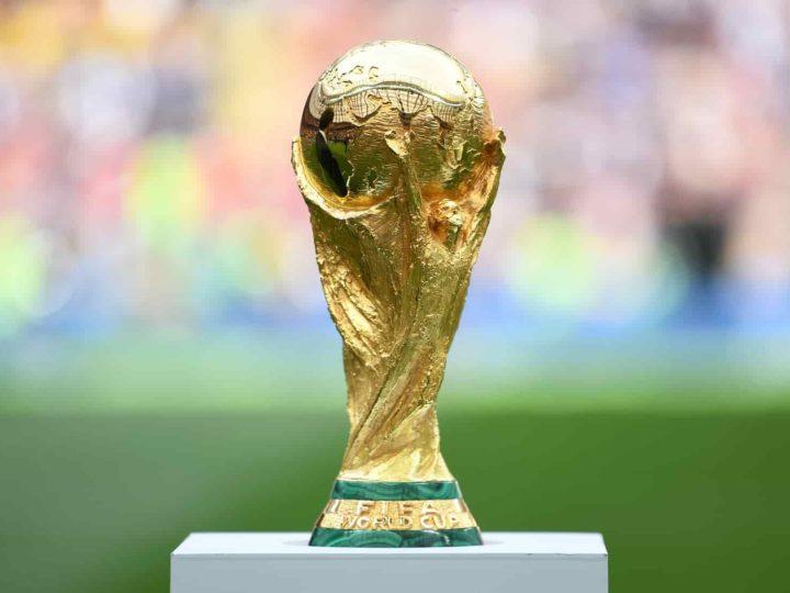 taça Copa do Mundo 2022